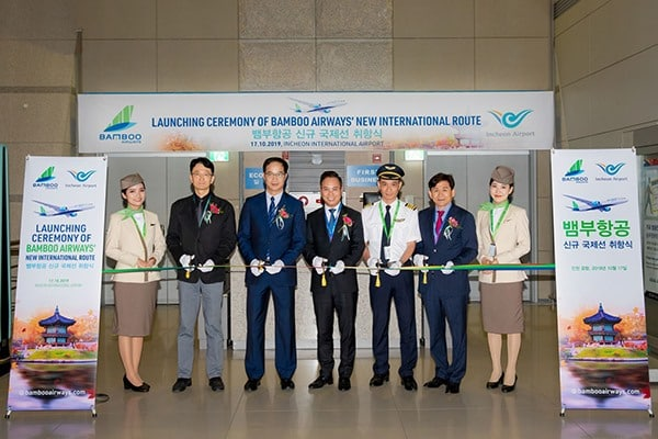 Bamboo Airways Launches New South Korea – Da Nang Route