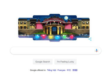 Amazing Hoi An is a Google Doodle!