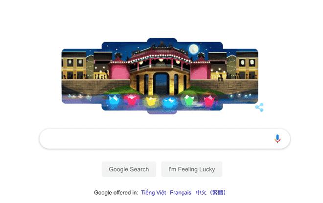 Amazing Hoi An is a Google Doodle!
